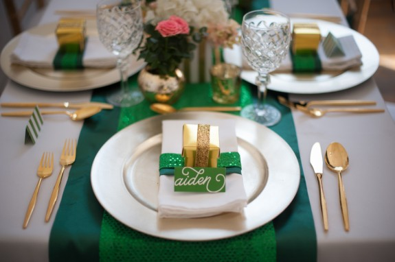St. Patricks Day Styled Table
