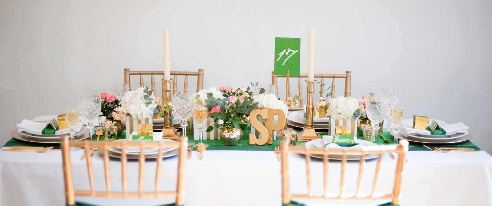 st. patties day table design