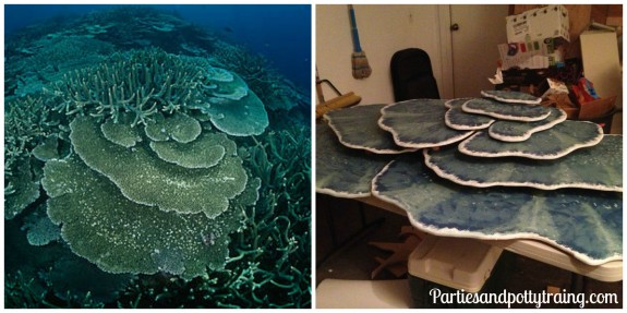 Coral Reef Table