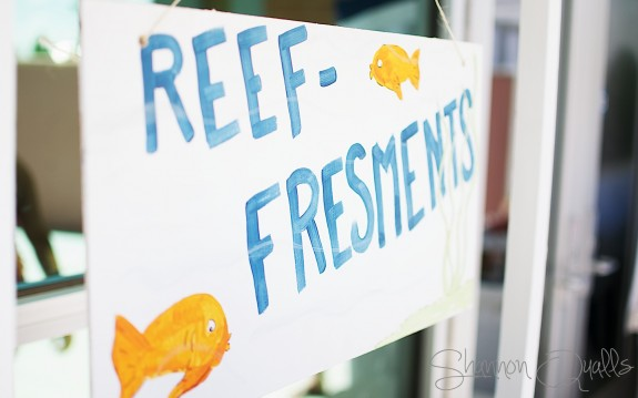 Reef-freshments Sign