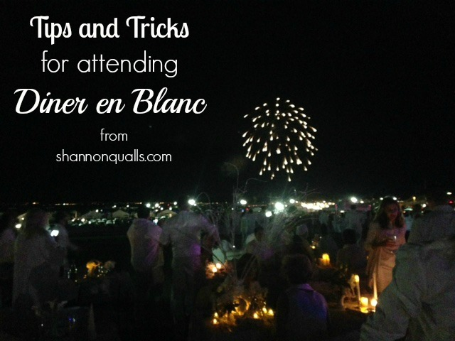 Tips and Tricks for Diner en Blanc from shannonqualls.com