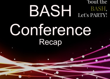 BASH Conference Recap from shannonqualls.com