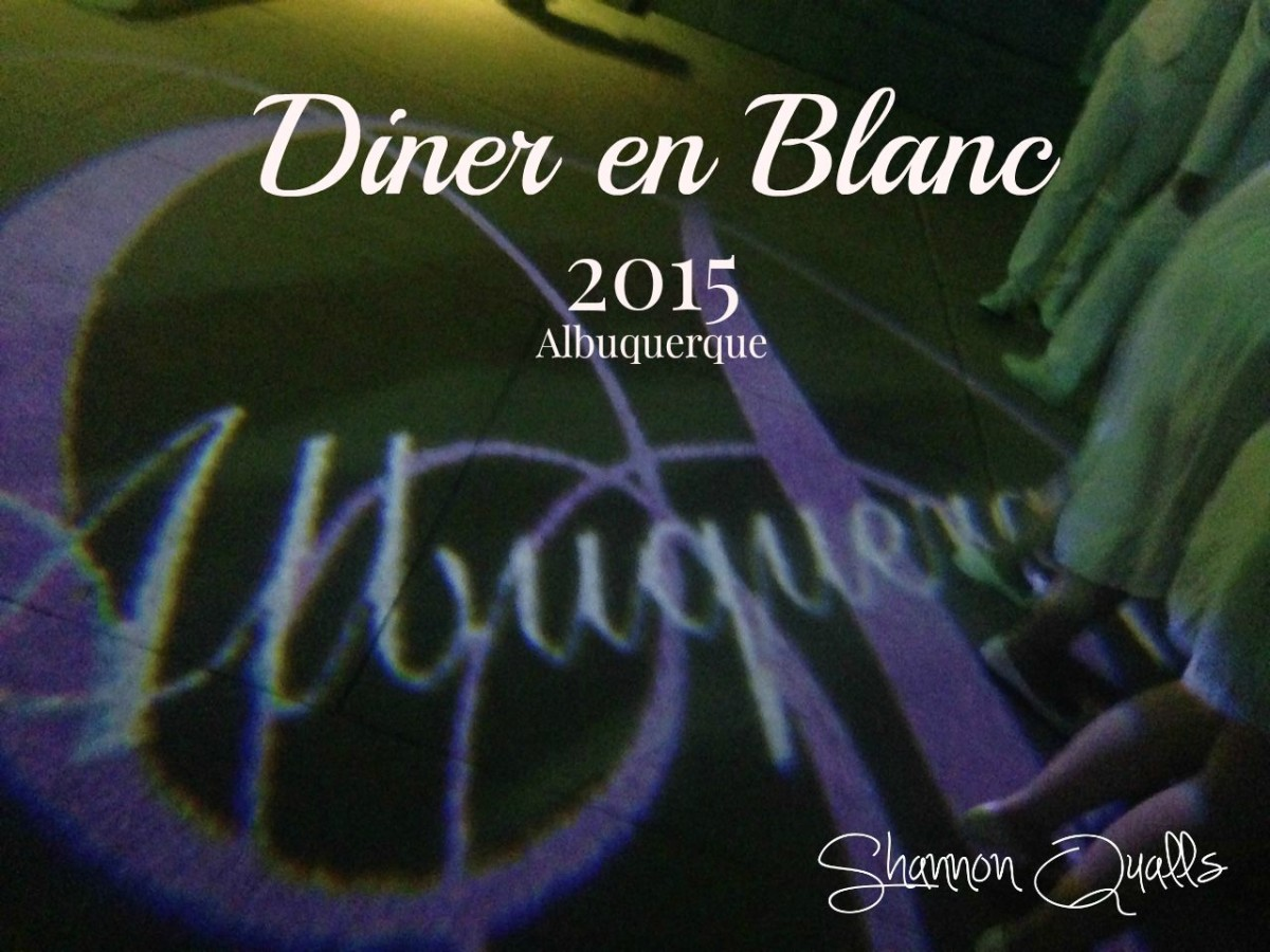 Diner en Blanc Albuquerque 2015 from shannonqualls.com