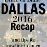 Diner en Blanc Dallas Recap and travel tips from shannonqualls.com