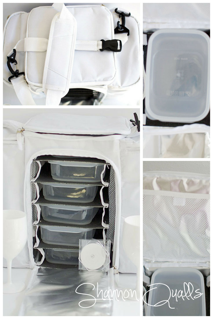 White Appeal Bag Review for Diner en Blanc from shannonqualls.com